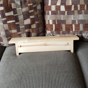 Wall Art - Pine Wood Shelf - Unfinished